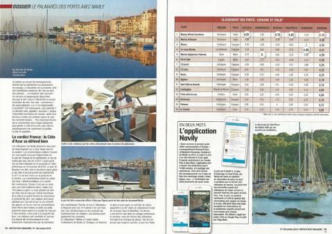 El Club de Vela Blanes valorat com a 3er millor port esportiu entre els ports espanyols e italians.