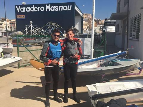 Oscar Boronat i Nil Gibernau participen al Gran Premi CN Masnou