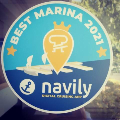 El Club de Vela Blanes millor port esportiu 2021 per Navily