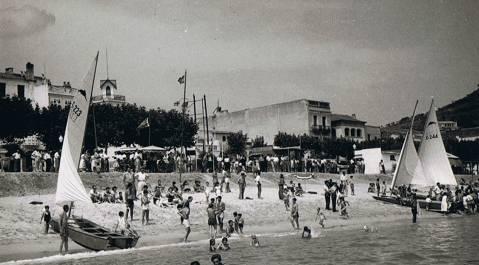 El Club de Vela Blanes va organitzar dues edicions del Campionat d'Espanya de Patins (1951 i 1955)