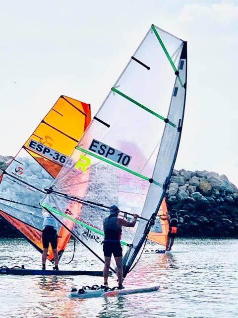Marc Tusquets primer català al Campionat d'Espanya de Raceboard a Puerto Sherry - 3