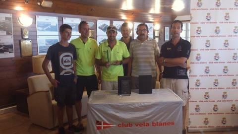 Finalitza el XXXIII Trofeu Príncep de Girona de la classe Creuer