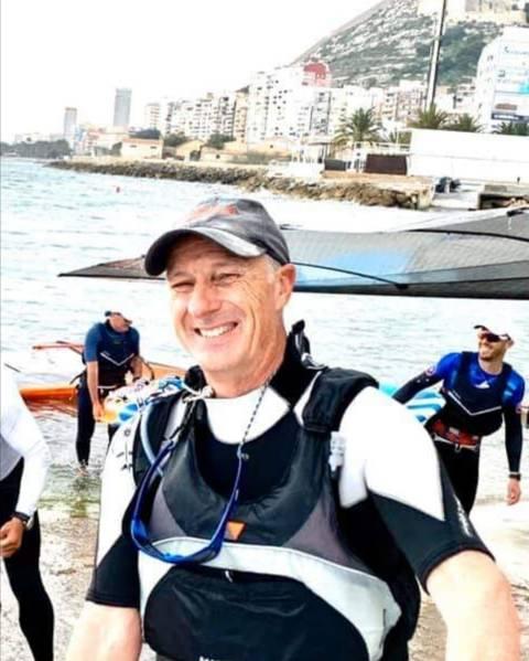 Marc Tusquets primer català al Campionat d'Espanya de Raceboard a Puerto Sherry - 4