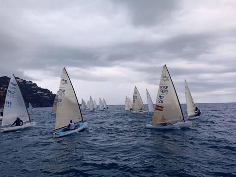 Àxel Muñoz participa a la Mediterranean Finn Cup