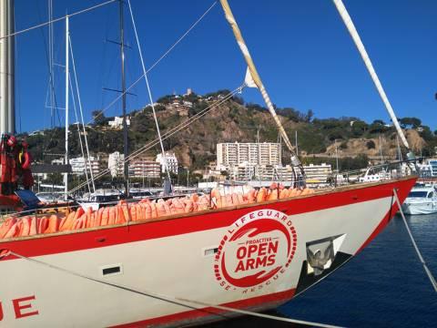 Proactiva Open Arms (ASTRAL) mostra, en el Club de Vela Blanes, la crua realitat humanitària al Mediterrani - 2