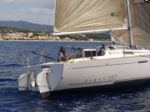 Babau i Tossut participen a la Travessa Arenys-Blanes-Arenys