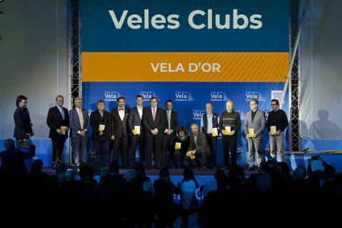 El Club de Vela Blanes acapara premis i distincions a la festa de la vela Catalana - 4