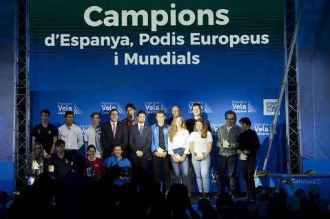 El Club de Vela Blanes acapara premis i distincions a la festa de la vela Catalana - 1