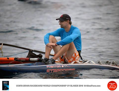 El vent pren el protagonisme als regatistes i la seva absència deixa sense proves la tercera jornada del Mundial de Raceboard. - 2