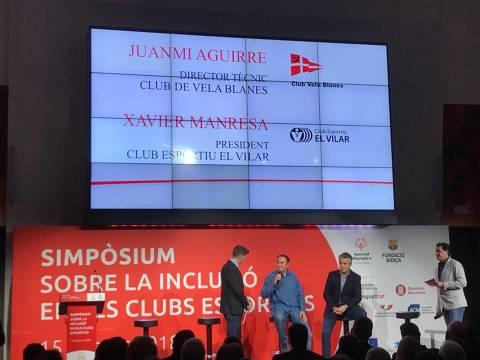 El CVB acapara el protagonisme al simpòsium sobre la inclusió en els clubs esportius a la Fundació Barça - 1