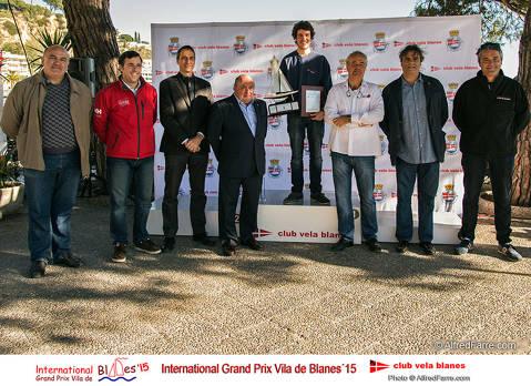 Aleix Subirà es proclama vencedor absolut de l'Internacional Grand Prix Vila Blanes 2015