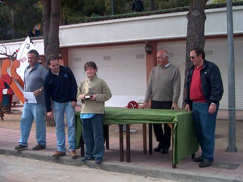 Campionat de Catalunya Zonal Nord 2004, Classe Optimist - 4