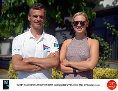 Blinnikka i Rodrigues dominen les ones a Blanes i guanyen el Costa Brava World Championship Raceboard Class 2018. - 1