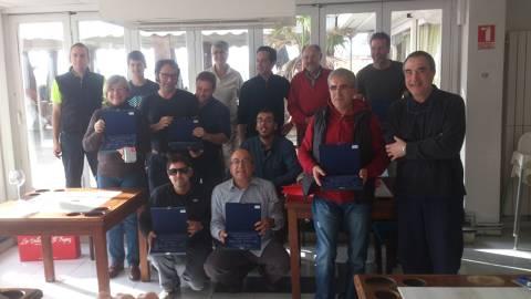Punt i final a la temporada de creuers 2014 del Club Vela Blanes amb el lliurament de premis i l'última regata de l'any. - 2