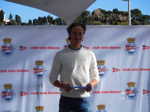 El suec Erik Lenander, de la classe Europe, guanyador absolut del IGPVB'17