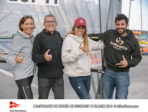 The Manchón brothers protagonists of the Spanish Windsurfing Championship in Blanes. Curro is proclaimed champion of Spain in Raceboard and Blanca dominates from beginning to end the RS: X Women. - 7