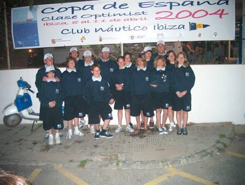 Copa d'Espanya 2004 Classe Optimist - 3