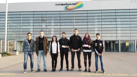 l'Ajuntament de Blanes i la Diputació de Girona distingeixen Carlos Ordóñez