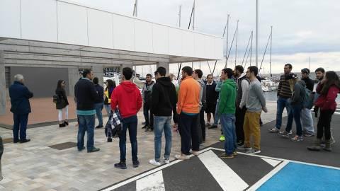 Alumnes del Tecno Campus de Mataró visiten les nostres instal·lacions. - 1