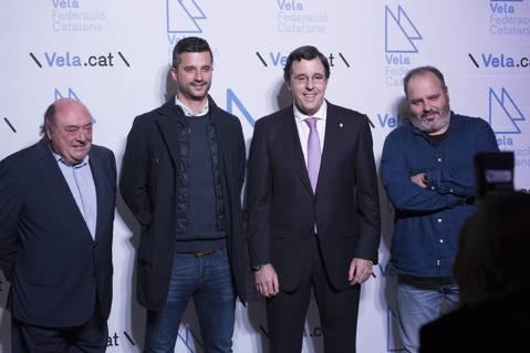 Amadeu Nualart i Felip rep la distinció d'honor com millor dirigent de l'any 2017 - 3