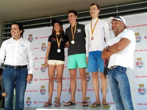 Gonzalo Giribet, del Club Vela Blanes, nou Campió de Catalunya 2017 de Raceboard - 1