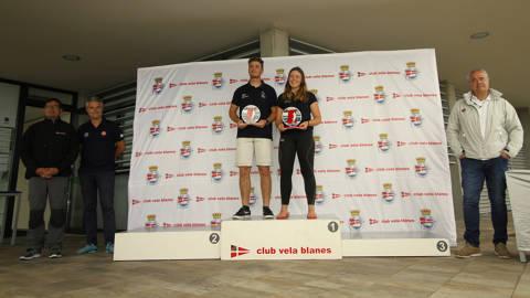 Ascensión Roca (RCNT) i Rafa Rabasa (CN Balís) Campions de la Copa d'Espanya 2018 - 5