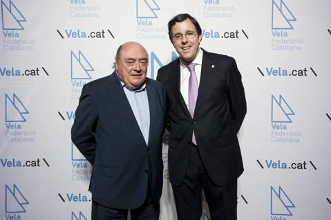 Amadeu Nualart i Felip rep la distinció d'honor com millor dirigent de l'any 2017