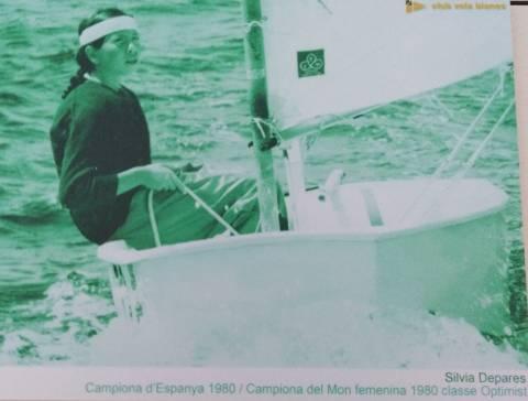 A la dècada dels 70 la família Depares, va ser l'ànima dels optimist en el Club Vela Blanes - 1