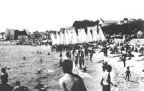 El Club de Vela Blanes va organitzar dues edicions del Campionat d'Espanya de Patins (1951 i 1955)  - 3