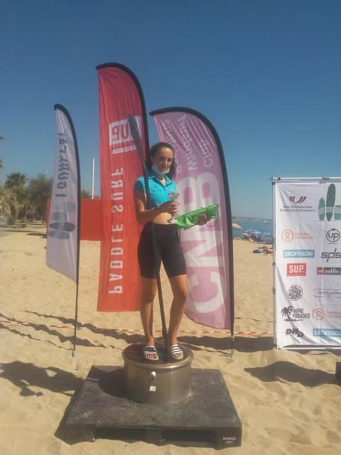 Extraordinària participació de l'equip de paddle surf del Club Vela Blanes al III Trofeu Sup Race Badalona 2020  - 1