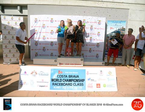 Blinnikka i Rodrigues dominen les ones a Blanes i guanyen el Costa Brava World Championship Raceboard Class 2018. - 3