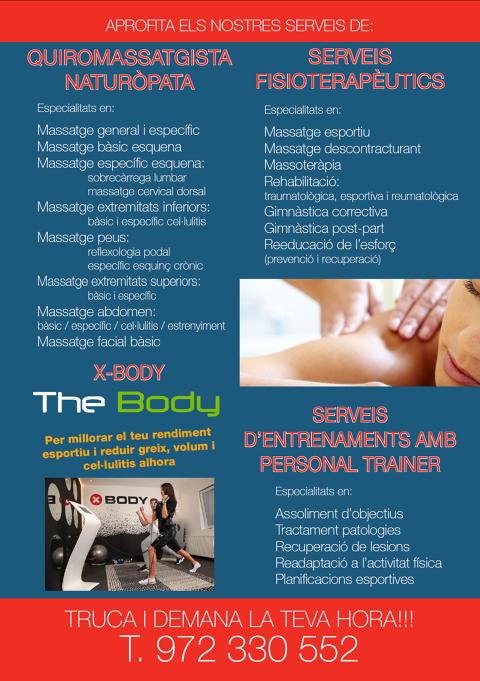 Al Fitness & Spa del Club Vela Blanes ja pots gaudir d'àmplia oferta de serveis