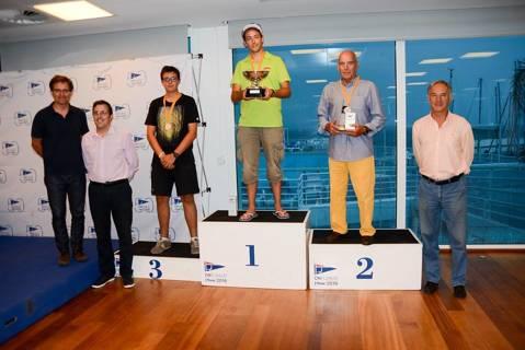 Àxel Muñoz nou Campió de Catalunya de la classe Finn