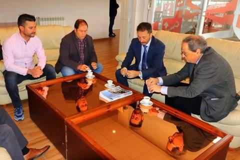 El president de la Generalitat visita les nostres instal·lacions. - 1
