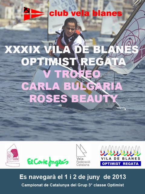 39è Vila de Blanes Optimist Regata V Trofeo CBRB