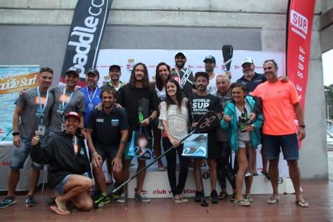 Èxit de participació al ?I Gran Premi de Paddle Surf Costa Brava' de Blanes amb més d'un centenar de participants - 5