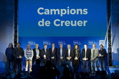 El Club de Vela Blanes acapara premis i distincions a la festa de la vela Catalana - 2