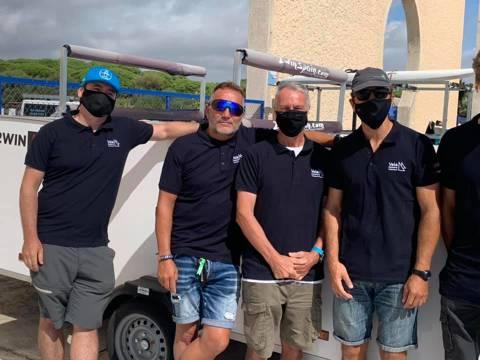 Marc Tusquets primer català al Campionat d'Espanya de Raceboard a Puerto Sherry - 1