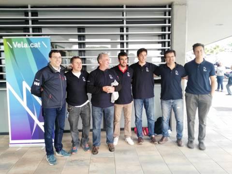 Els germans Parés en 420 guanyen el Trofeu Primavera N-2 de Blanes - 2