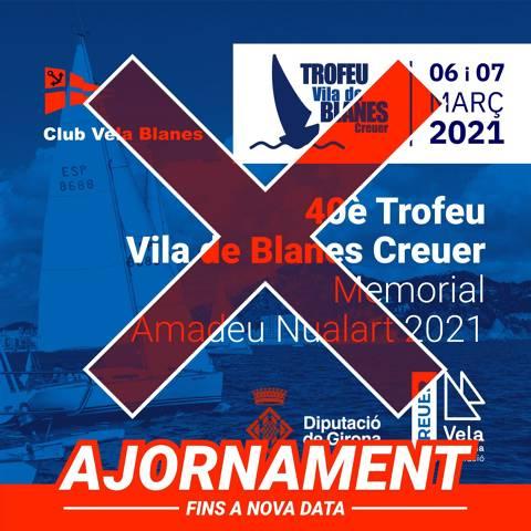S'ajorna la regata Vila de Blanes de Creuer