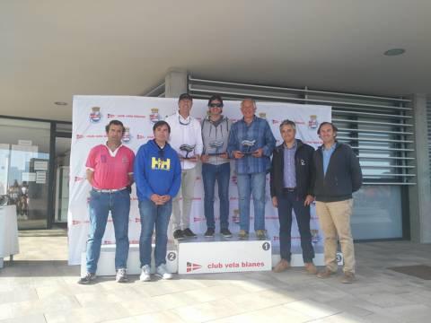 Rafa Rabasa en Europa, Eduardo Ferrer/Carlos de Maqua en 420 i José Luís Doreste en Finn, guanyadors absoluts al Trofeu Primavera N2 - 7