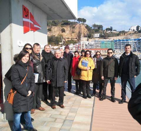 Una delegació turca del Ministeri de Medi Ambient visita les instal·lacions del CVB