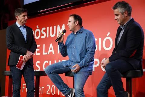 El CVB acapara el protagonisme al simpòsium sobre la inclusió en els clubs esportius a la Fundació Barça