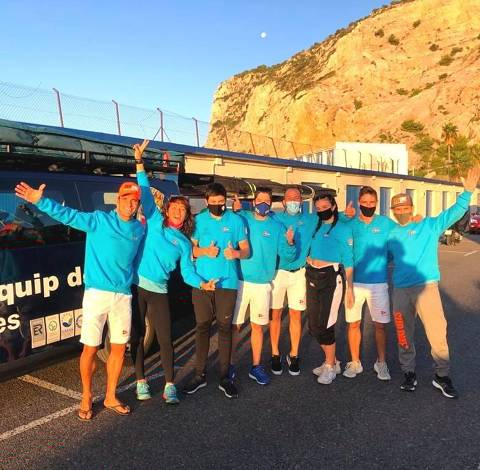 Xavi Marina 3er a la SUP RACE GARRAF 2020 - 2