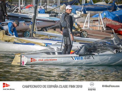 Carlos Ordóñez (Club Vela Blanes) Campeón de España de la clase Finn 2019 - 1