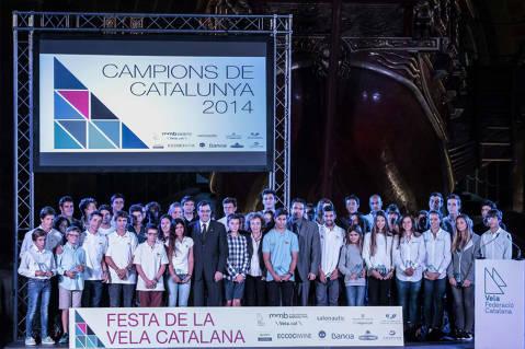 El Club Vela Blanes entre els millors del 2014 a la Festa de la Vela Catalana. - 1