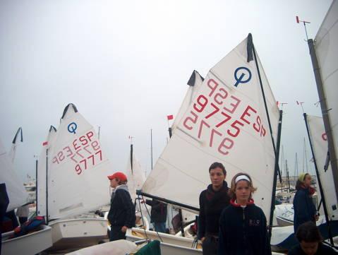 Campionat de Catalunya Zonal Nord 2004, Classe Optimist - 1