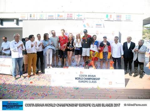 Costa Brava World Championship Europe Class 2017: un esdeveniment per recordar.