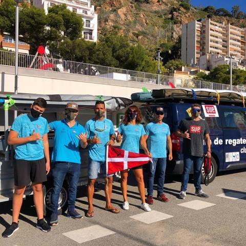 Neus Collado i Xavi Marina podi al III Circuit Provincial Castellón SupRace - 2