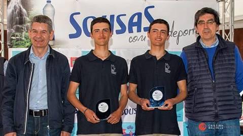 Els germans Parés bronze al Campionat Espanya 420 a Vigo